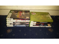 8 Xbox 360 Games ( Need For Speed, Batman, Transformers, Crew, Street Fighter)