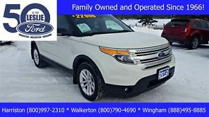 2012 Ford Explorer XLT 4WD | Leather | Incl Snow Tires & Rims
