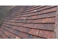 Clay roof tiles 4_5000 10 x6 clay roofing tiles. Plus gables and eaves good condition