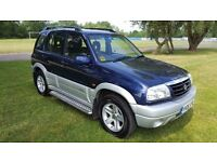 06 Plate Suzuki Grand Vitara 2.0 16v 5 Door Estate 4x4.. 1 Year MOT.