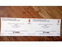 2 x 10 cc Concert tickets at the Philharmonmion 1st April £35 each (Concert Sold out)