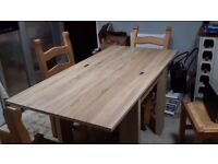 Next Madsen 6 Seater Square To Rectangle Dining Table
