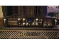 Warwick Tube Path 5.1 - 500W valve bass amplifier head