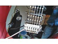 left handed ibanez grg170dxl electric guitar black