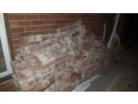 Free used house bricks. Great for rubble or reuse.