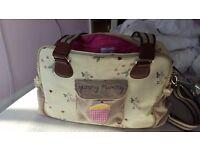 Yummy mummy Pink lining baby bag