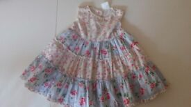 Bundle of summer dresses - 1-2 years - excellent condition