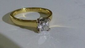 Diamond Ring Half Carat