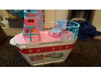 Barbie cruise ship toy