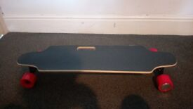 Electric Skateboard with bag used once