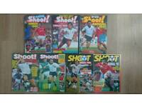 Football Annuals: Shoot! 1989-1995 & Liverpool