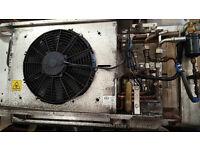 GAH Van Refrigeration unit 12 Volt belt driven from the compressor