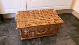 "Wicker/Cane Picnic Basket 3ft x 18"" x 9"""