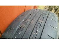 Nankang 175 65 15 tyres on Punto Grande steel rims