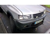 Vauxhall frontera limited edition