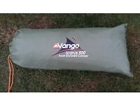 Vango Icarus 500 Front Enclosed Canopy - used only once