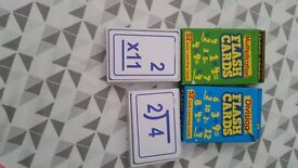 Multiplication & Division Flash Cards