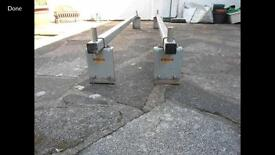 Commercial vehicle roof bars racks 2x heavy duty