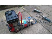 Briggs & Stratton Generator 110/240 plugs