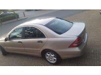 2003 Mercedes c class c220cdi automatic diesel low mileage £1550