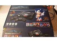 Sega Mega drive HD wireless 85 games