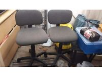 2 x office chairs ,study chairs