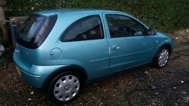 Vauxhall corsa 1.2 twinport 12 mths mot.4 new tyres 2 owners from new.very clean in and out.