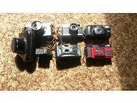 35mm Cameras including...