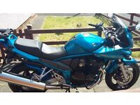 Suzuki GSF650 Bandit K6 (07 Reg) Immaculate in blue with matched top box and hugger!