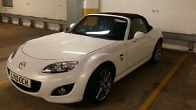 MAZDA MX-5 1.8 i 20TH ANNIVERSARY EDITION CRYSTAL WHITE LOW MILEAGE MX5