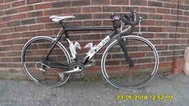 DOLAN PREFISSIO RACING BIKE 18sp LIGHTWEIGHT 21in/54cm ALLOY FRAME /CARBON FORKS EXC CONDITION