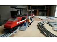 Lego 7745 Inter-City Train & 7864 12v Transformer