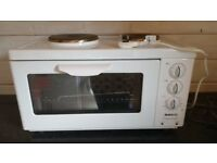 Beko compact cooker mini oven and hob