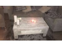 Coffee table - shabby chic wood