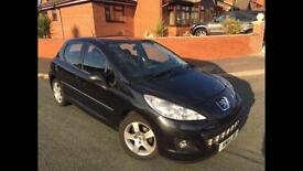 Peugeot 207 ENVY 1.6 HDI, ONLY 39,500 MILES!!! 5 door hatch, bluetooth, USB, MOT till MAY 2017!
