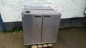 Commercial catering williams double door fridge