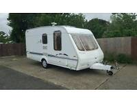 2002 swift charisma w35 2 berth caravan end bathroom awning and all accessories