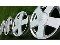 Wheels alloys ford fiesta 15 inch