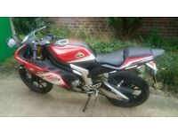 Rieju RS3 125cc Sports bike very fast with full v5.
