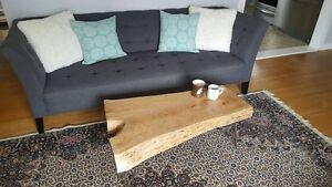 Stunning Cherry Live Edge Coffee Table