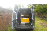 Wheel chair ramp, winch and tie down system. Car/Van Mobility Kit