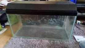 Large fish tank aquarium no accessories
