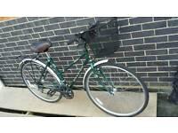Hybrid LADIES TOWN BIKE Raleigh Pioneer Deluxe