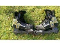 Bauer biax x-30 inline hockey skates