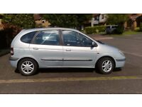 Renault Megane Scenic 1.9 Diesel .Dynamique + DCi model well equiped and economic family hatchback.