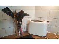 Toaster + Cooking Utensils