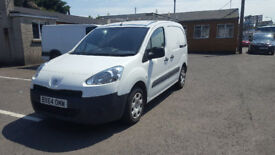 Peugeot Partner HDi 2014 White 1560cc 48533 miles One owner.