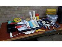 Garage clearance - decorating & plastering tools etc