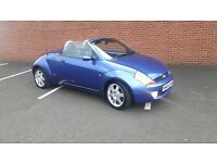 Ford street ka luxury convertible streetka with full heated leather aircon swap px