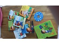 Harry & His Bucketful of Dinosaurs bookset with CD